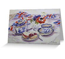 Jubilee Tea Greeting Card