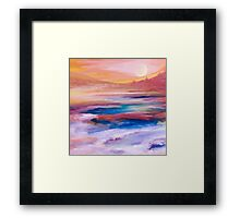 Somewhere- Abstract Framed Print