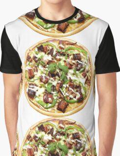 Hot Italian Pizza Graphic T-Shirt