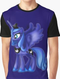 My Little Pony Friendship Is Magic Princess Luna Graphic T-Shirt