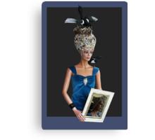 Bling bling Lady head gear #7 Canvas Print