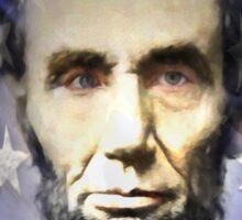 Mr Lincoln Sticker