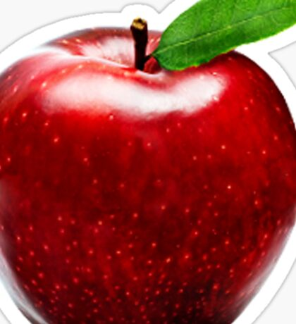 Red Apple Sticker