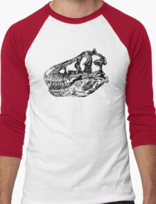 Dinosaur: T-Rex - Black Ink Men's Baseball ¾ T-Shirt