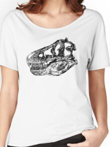 Dinosaur: T-Rex - Black Ink Women's Relaxed Fit T-Shirt