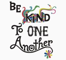 Be Kind To One Another by Andi Bird
