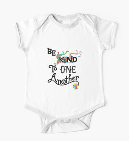 Be Kind To One Another Kids Clothes