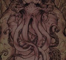 Cthulhu - God Of Cosmic Horror Sticker