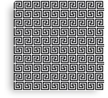 Greek pattern Canvas Print