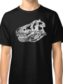 Dinosaur: T-Rex - White Ink Classic T-Shirt