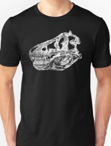 Dinosaur: T-Rex - White Ink T-Shirt