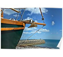 Beached on Monmouth ~ Lyme Regis Poster
