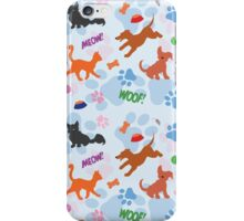 Puppies and Kittens iPhone Case/Skin