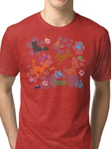 Puppies and Kittens Tri-blend T-Shirt