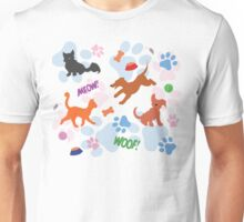 Puppies and Kittens Unisex T-Shirt