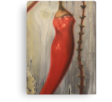 Red Hot Chilie Canvas Print