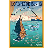 Lord Howe Island Francis Chichester's Gipsy Moth Photographic Print