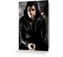 Dark Dexter Greeting Card