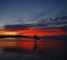 Red surfer by geophotographic