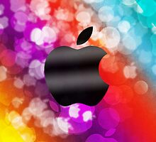 Apple Logo Bokeh Case by Jenifer Jenkins