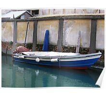 Venetian Boat Poster