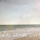 Sun, Sand, Surf by shawntking