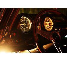 Vintage Mercedes-Benz 290 SE 6.9 Cabriolet Gauges Photographic Print