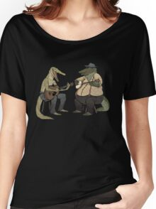 Dueling Crocodylidae Women's Relaxed Fit T-Shirt