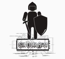 Sir Dork Alot T-Shirt by VampicaX