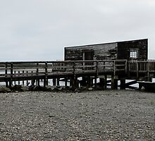 black jetty by Anne Scantlebury