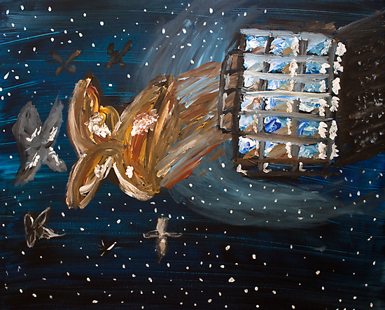 Moths... in Space by Kari Sutyla