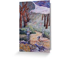 Finding the Way Forward Greeting Card