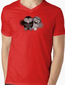 OWL 4 Mens V-Neck T-Shirt