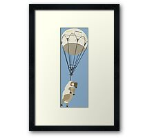 SOLID SNAKE: SHEEP BALLOON Framed Print
