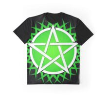 Grassy Pentacle  Graphic T-Shirt