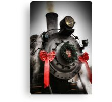 All Aboard... The Holiday Express Canvas Print