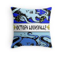 Octopi Louiville Throw Pillow