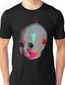 Tripped Out Doll Head Unisex T-Shirt