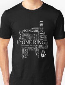 Saruman's Word Cloud T-Shirt