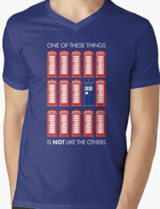 One of These Things Mens V-Neck T-Shirt