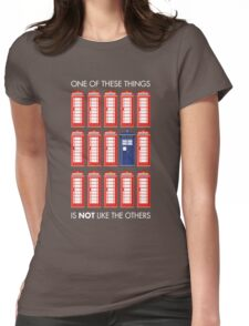 One of These Things Womens Fitted T-Shirt