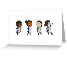 Tiny Revolutionaries Greeting Card