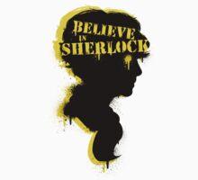 Believe in Sherlock Holmes Kids Tee