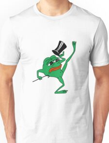 tophat pepe Unisex T-Shirt