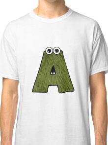 Monster Letter A Classic T-Shirt