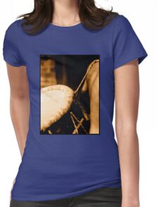 Traditional Drums Womens Fitted T-Shirt
