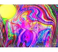 Within a rainbow Trance Photographic Print