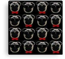 Cool Pugs Canvas Print