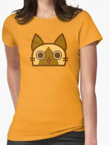 Meow-reoww! Womens Fitted T-Shirt