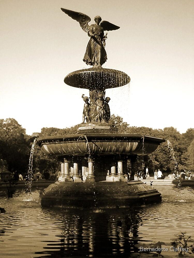Bethesda Fountain by Bernadette Claffey